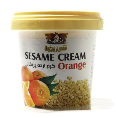 Sesame cream with orange flavor SHIRREZA 200 gr