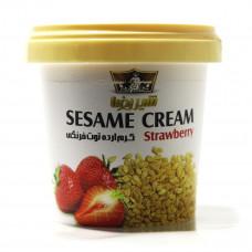 Sesame cream with strawberry flavor SHIRREZA 200 gr