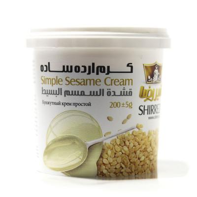 Sesame cream simple SHIRREZA 200 gr