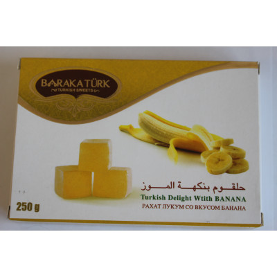 Delight with banana flavor 250gr