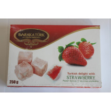 Delight with strawberry flavor 250gr