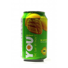 YOU drink with tropical fruit juice (Mango) 330 ml