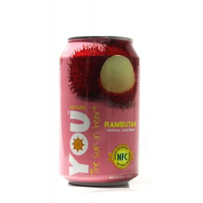 YOU drink with tropical fruit juice (Rambutan) 330 ml